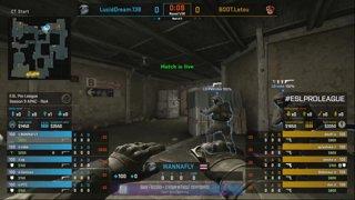 CS:GO - Lucid Dream vs. BOOT [Dust2] Map 2 - Group B - ESL Pro League Season 9 APAC