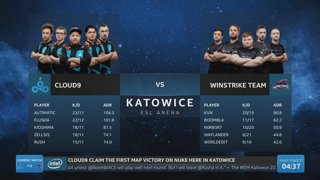 RERUN: G2 vs. TYLOO [Mirage] Map 1 Ro5 - Challengers Stage - IEM Katowice 2019
