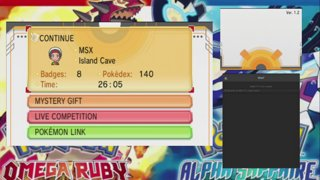 MSX7 - Let's Live Play Pokemon Omega Ruby - Day 4 - Twitch