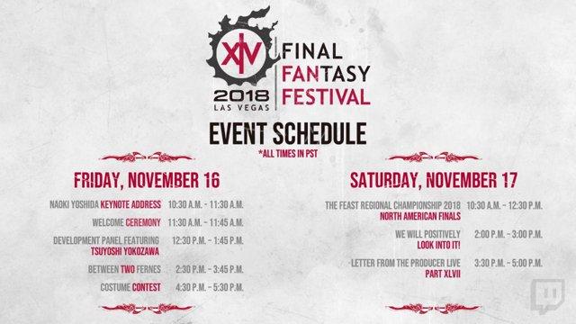 FINAL FANTASY XIV Fan Festival 2018 in Las Vegas
