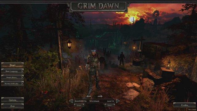 Blitz Bug in Grim Dawn