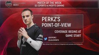 POV Stream | G2 Perkz | Week 8 | EU LCS Summer Split (2018)