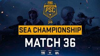 [PSC] [TH] JIB PUBG SEA Championship Phase 3  Game 36