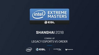 CS:GO - ORDER vs. Legacy [Inferno] Map 1 - Closed Qualifiers - IEM Shanghai 2018