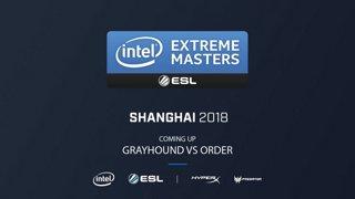 CS:GO - Greyhound vs. ORDER [Cache] Map 1 - Closed Qualifiers - IEM Shanghai 2018