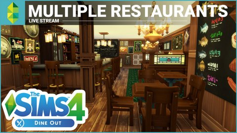 The Sims 4 Dine Out - Running Multiple Restaurants