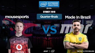 IEM Sydney 2019 [TH] Quarter-Finals MIBR VS.mousesports