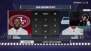 49ers vs. Seahawks || FemSteph vs. Goldy
