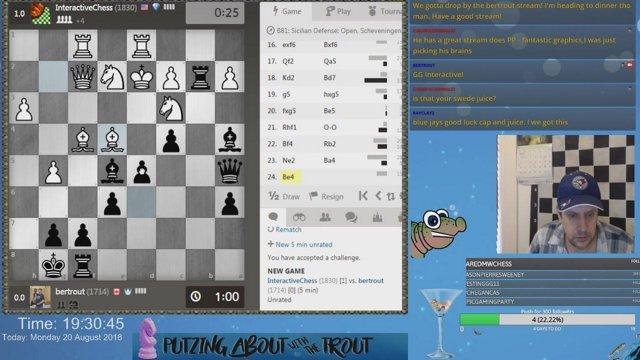 Death Match vs  InteractiveChess: Clip