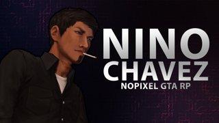 Nino Chavez on NoPixel GTA RP w/ dasMEHDI - Return Day 25 - Million Dollar Race Day 1
