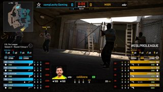 CS:GO - compLexity vs. MIBR [Overpass] Map 2 - Group A - ESL Pro League Season 9 Americas