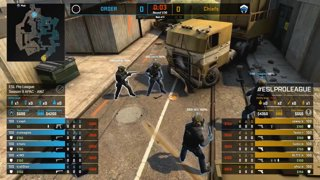 CS:GO - ORDER vs. Chiefs [Overpass] Map 1 - Group B - ESL Pro League Season 9 APAC