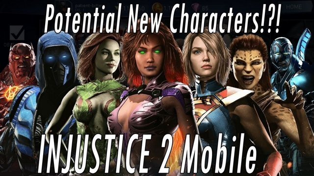 14 New Upcoming Characters In Next Update? Injustice 2 Mobile - Sub Zero  Supergirl Aquaman Darkseid