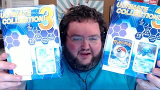 Ultimate collection box 3??? x 2!  POKEMON WEIRD STUFF