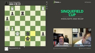 Rebroadcast: Sinquefield Cup with hosts IM Rensch and GM Hess #grandchesstour