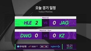[2019 스무살우리 LCK Spring Split]  HLE vs. JAG - KZ vs. DWG