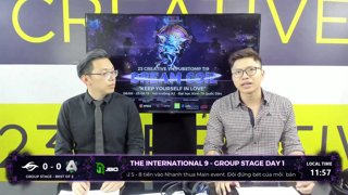 The International 9 | Group Stage Day 1 | NAVI vs OG | Caster: Dukiee ft Kinzu