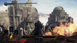 Dark Souls 3 - Addy vs. Ancient Wyvern (NG+)