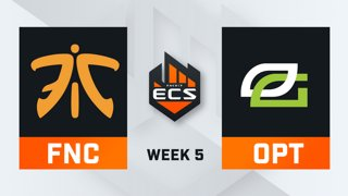 Fnatic vs OpTic - Map 1 - Inferno (ECS Season 7 - Week 5 - DAY4)
