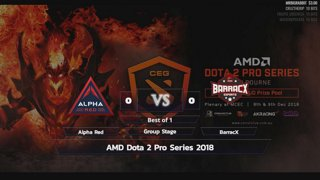 [LIVE-THAI] AMD Dota 2 Pro Series 2018 - 7/12/2018 - Cyberclasher