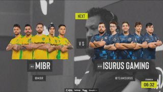 [PT-BR] ESL Pro League 2019 | Americas | Dia 12 | MIBR vs. Isurus