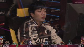RERUN: Vici Gaming vs Fnatic - Game 1 - Playoffs - CORSAIR DreamLeague S11 - The Stockholm Major