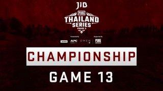 [Championship Division] JIB PUBG Thailand Series PHASE 3  Game 13