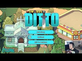 видео: April 24, 2018 Stream - The Swords of Ditto