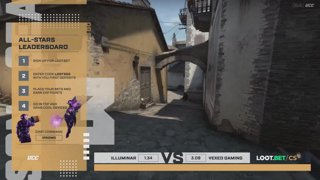 (EN) Illuminar vs Vexed Gaming | map 3 | Loot.bet/CS Season 3 | by @oversiard & @VortexKieran