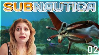 Subnautica Part 2 / what the hell is up with that fish amirite