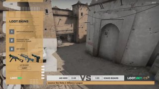 (EN) Ad Hoc vs Izako Boars | map 1 | Loot.bet/CS Season 3 | by @oversiard & @VortexKieran