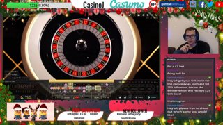 Nice hit on Roulette NUMBER 8