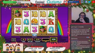 Casumo Fun Giveaway 250 Followers Goal! + 25 Free spins for 3