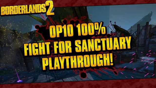 Fight For Sanctuary Op10 100 Playthrough