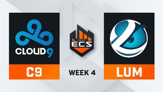 Cloud9 vs Luminosity - Map 2 - Inferno (ECS Season 7 - Week 4 - DAY1)