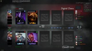 Good Kappa Studios w/ Arteezy, s4, Misery, zai: C9 vs. DC Nanyang Finals Game 1
