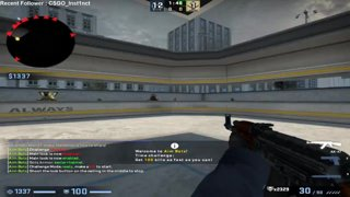 Aim Botz 360 100 kills 1 minute 22 seconds