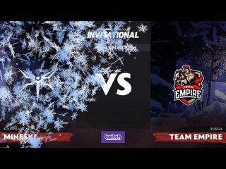 видео: Mineski vs Team Empire, 1
