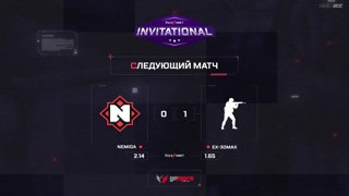 (RU) Vulkan.Bet Invitational | ex-3DMAX vs Nemiga | map 2 | bo3 | by @Zloba13 & @Mr_Zais