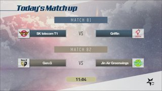 LCK Summer: SKT vs. GRF - GEN vs. JAG