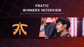 Winners Interview - Virtus Pro vs Fnatic - CORSAIR DreamLeague S11 - The Stockholm Major