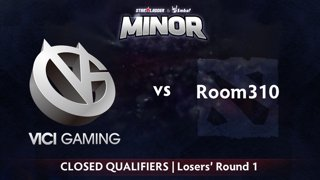 Vici Gaming vs Room310 Game 1 - StarLadder ImbaTV CN Qualifier: Losers' Round 1