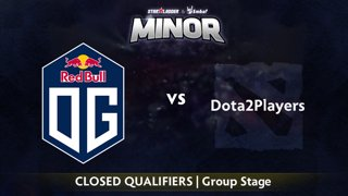 OG vs Dota2Players Game 2 - StarLadder ImbaTV EU Qualifier: Group Stage