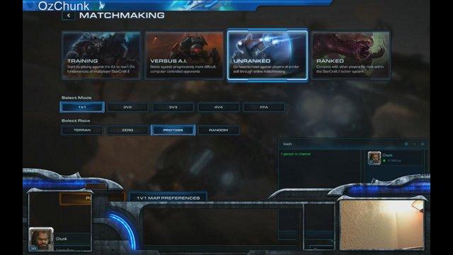 SC2 4v4 matchmaking