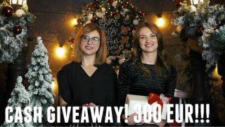CASH Giveaway!! 300 EUR from Casino Ladies!.avi