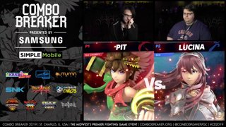 CB 2019 SSBU - JonRob (Pit) Vs. The Sickness (Lucina) Smash Ultimate Tournament Pools
