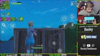 streaming from the Epic Games HQ (not clickbait) | 2nd most mobile solo wins