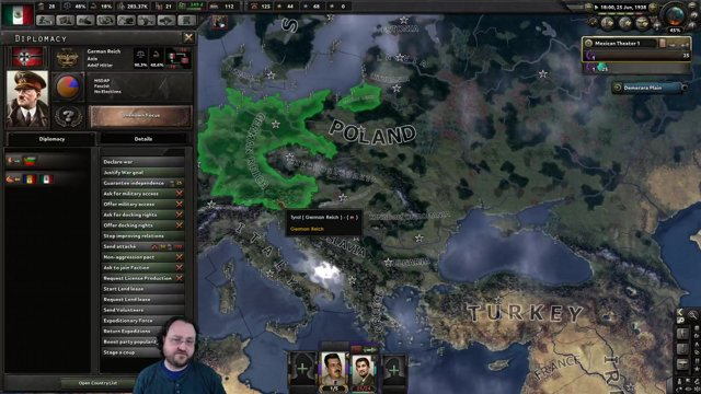 Hearts of Iron IV: Man the Guns -- Mexico -- March 2nd #4