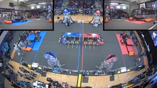 2019 FIRST Robotics Competition - Aerospace Valley Regional - Multiview - Saturday
