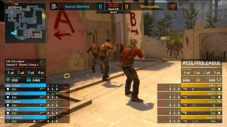 CS:GO - Renegades vs. Isurus [Mirage] Map 1 - Group A - ESL Pro League Season 9 Americas